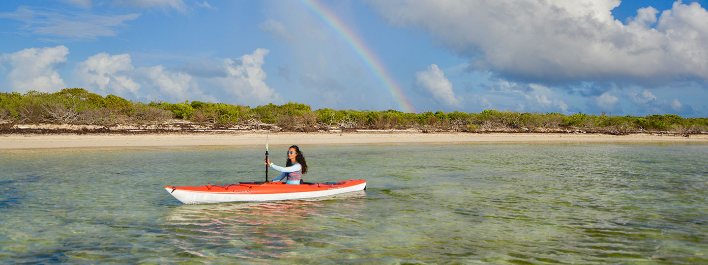 Kayaking At East Bay Resort South Caicos, Turks And Caicos