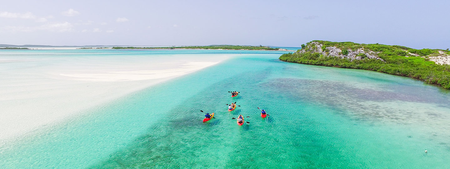 Kayaking Tours At East Bay Resort South Caicos, Turks And Caicos
