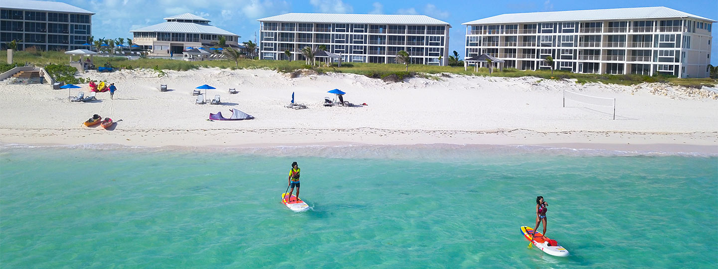 Paddle Boarding at East Bay Resort South Caicos, Turks and Caicos
