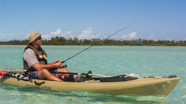 Kayak Fishing At East Bay Resort South Caicos, Turks And Caicos