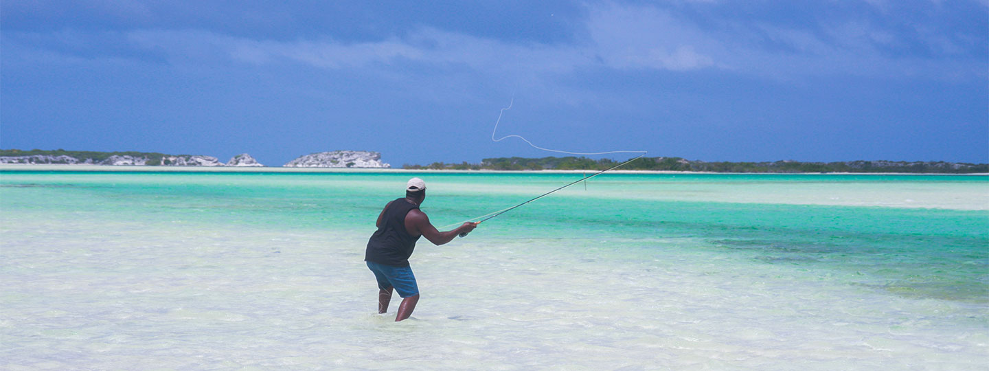 Fishing In South Caicos, Turks And Caicos