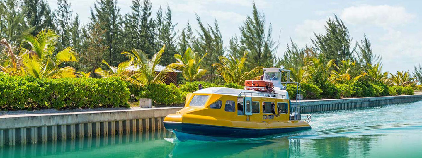 Ferries to South Caicos Via Caribbean Cruisin