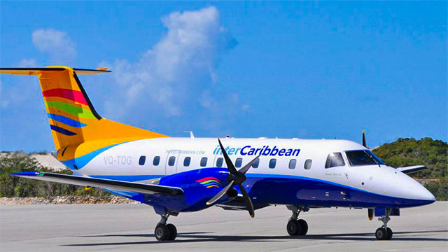 Flights to South Caicos Via Intercaribbean Airways