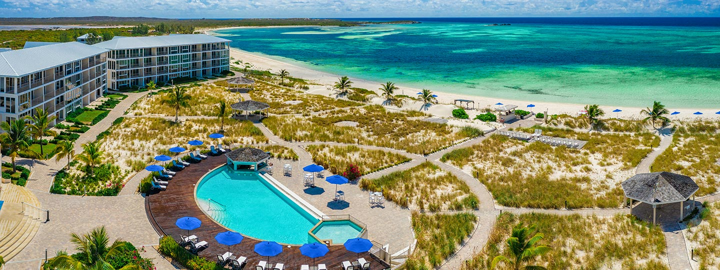East Bay Resort Pool With Ocean Views South Caicos, Turks And Caicos