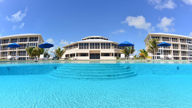 Resort Pool At East Bay Resort South Caicos, Turks And Caicos