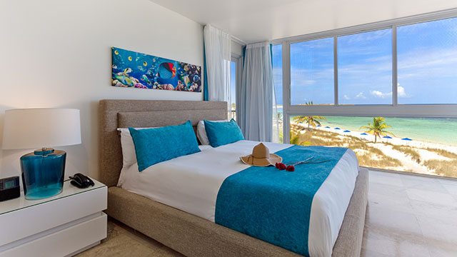 One Bedroom Deluxe Beachfront Suite At East Bay Resort South Caicos, Turks And Caicos