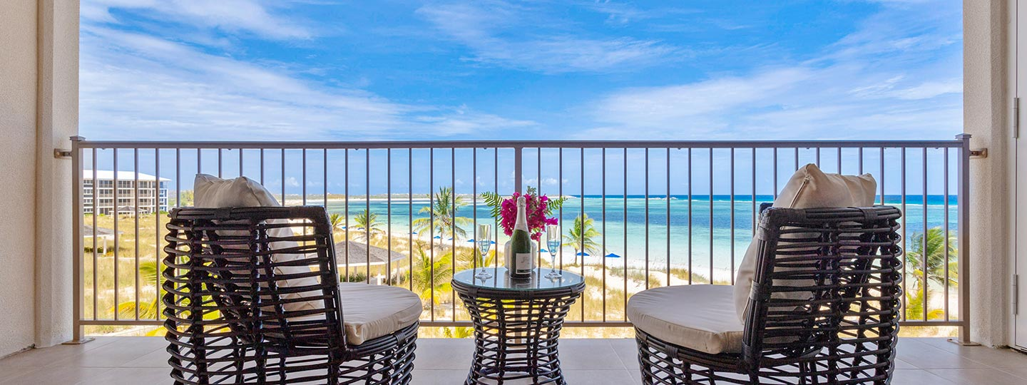 The View From The One Bedroom Deluxe Beachfront Suite At East Bay Resort South Caicos, Turks And Caicos