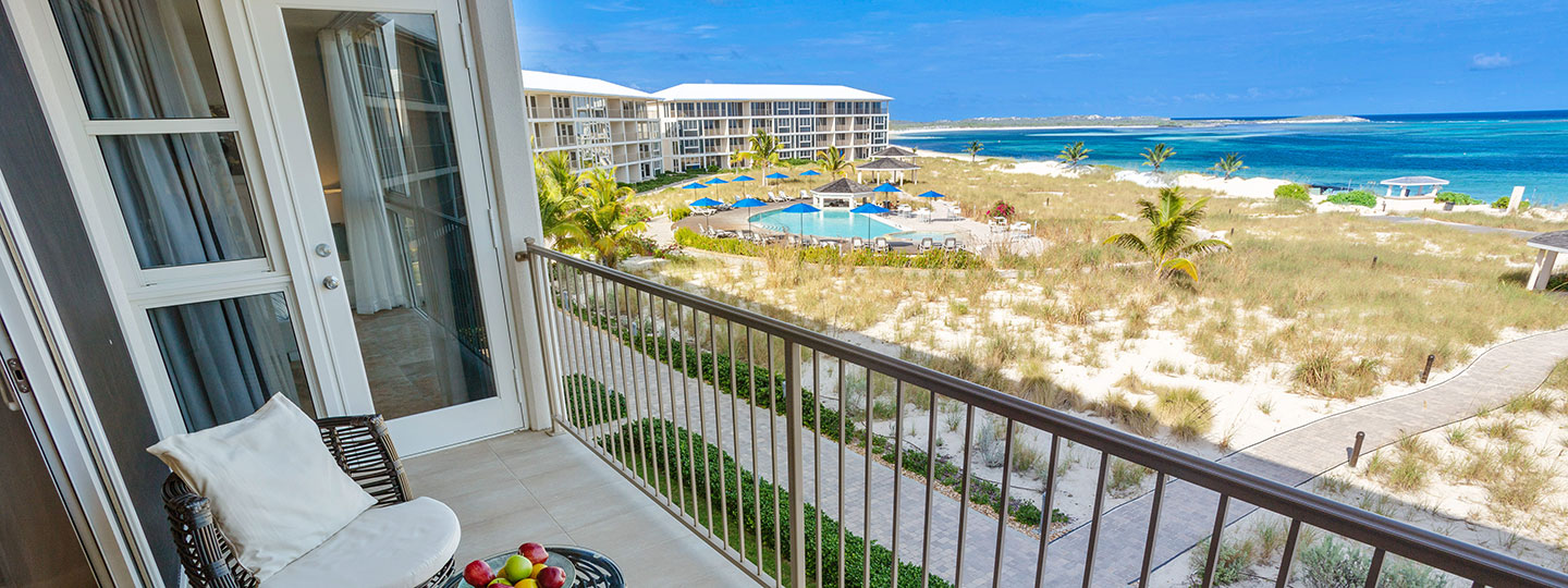 2 Bedroom Deluxe Beachfront Suite Balcony at East Bay Resort South Caicos, Turks And Caicos