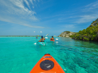 Kayaking At East Bay Resort South Caicos