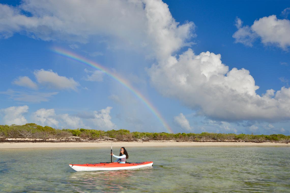 Turks and Caicos Kayaking at East Bay Resort