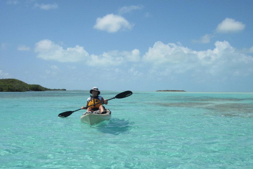 South Caicos Kayaking At East Bay Resort