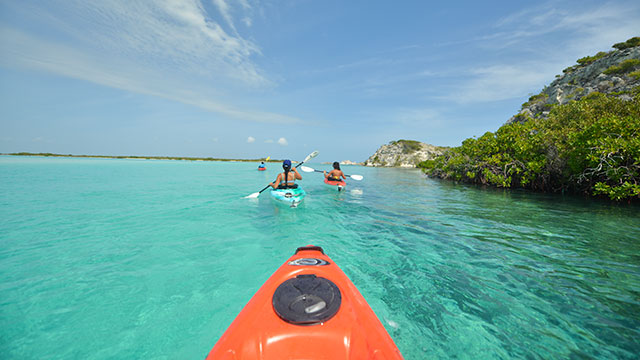 South Caicos Kayaking Adventures At East Bay Resort