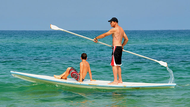 Paddle Boarding In South Caicos At East Bay Resort