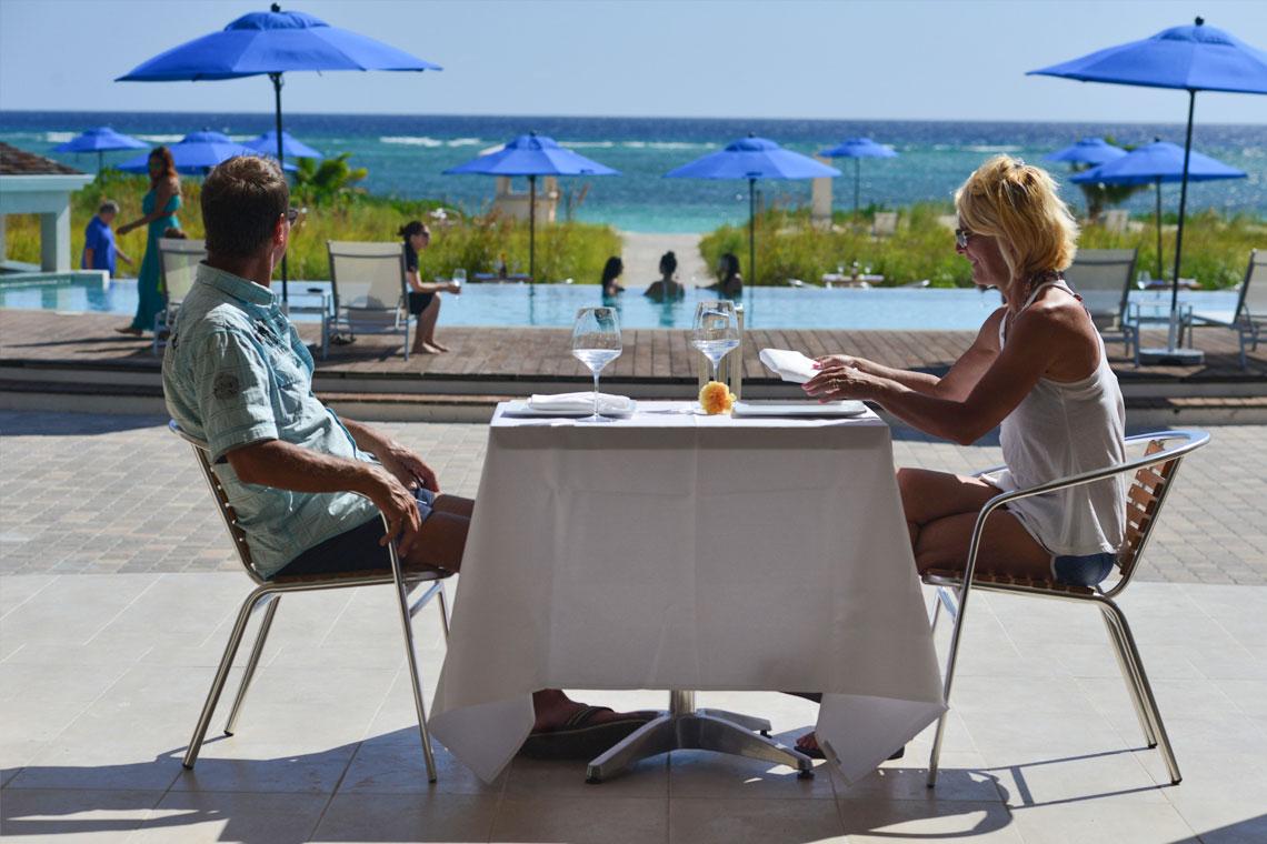 Resort Dining At East Bay Resort South Caicos