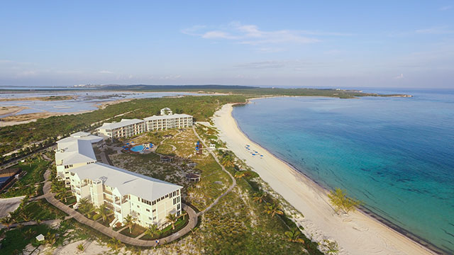 East Bay Resort and East Bay Beach On South Caicos