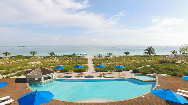 East Bay Resort Pool With Ocean Views On South Caicos