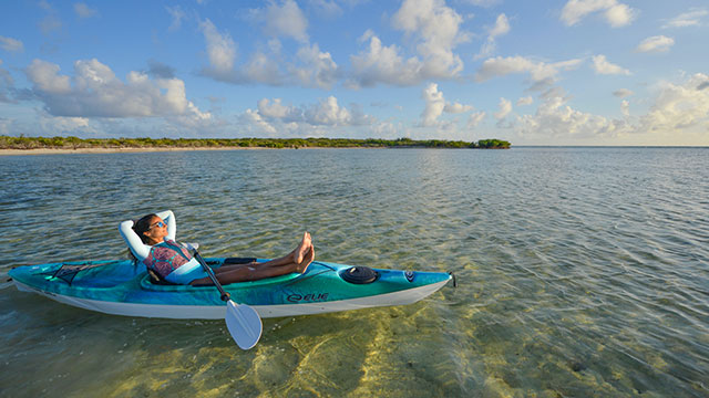 Kayaking In South Caicos At East Bay Resort