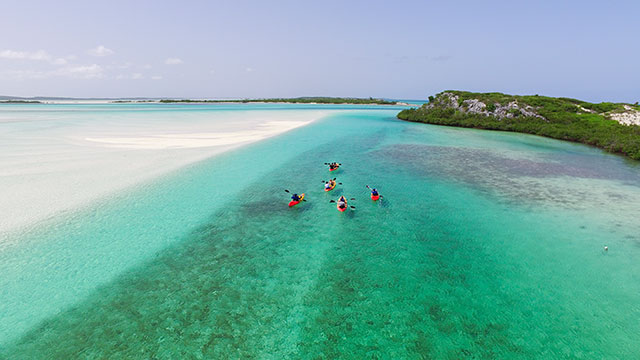 South Caicos Kayaking Tours At East Bay Resort