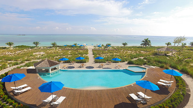 East Bay Resort South Caicos Pool and Ocean Views