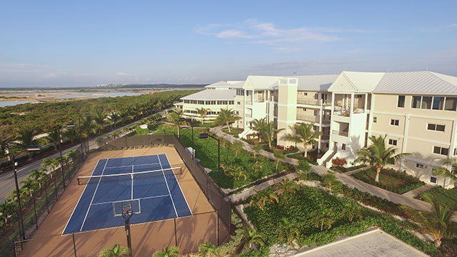 East Bay Resort Tennis Courts South Caicos