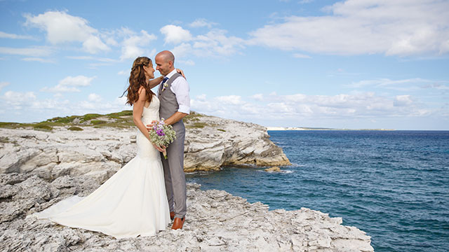 Turks and Caicos Caribbean Beach Weddings at East Bay Resort South Caicos
