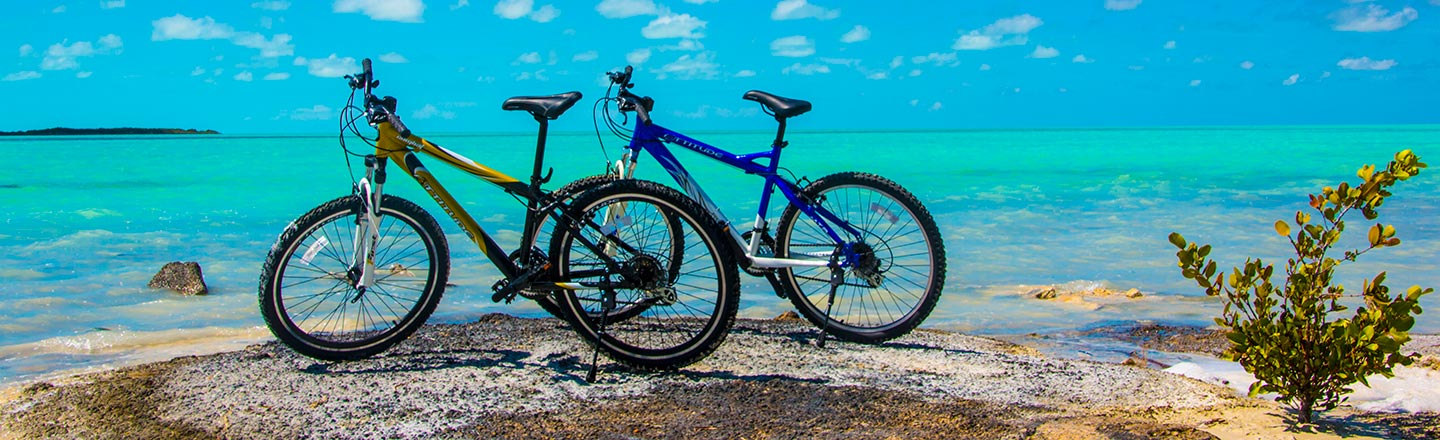 Bicycling in South Caicos