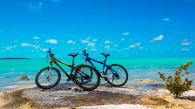 Bicycling In South Caicos At East Bay Resort