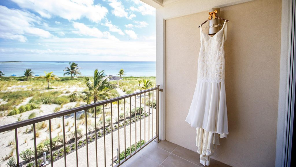 The Bride's Gown At East Bay Resort