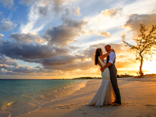 Sunset Beach Weddings at East Bay Resort South Caicos