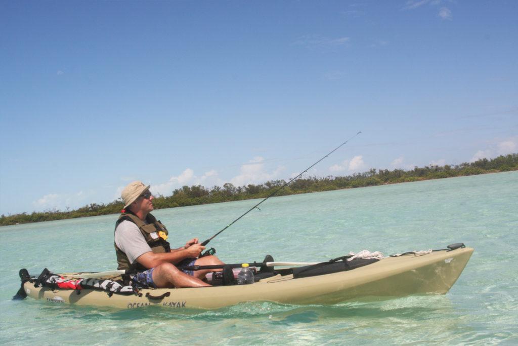 Kayak Fishing On South Caicos