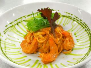 Fettucini Mare Monti at BLU Bar and Grill