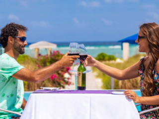 Al Fresco Dining At BLU Bar And Grill At East Bay Resort