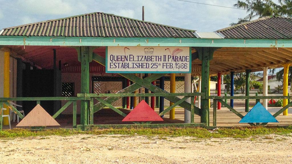 South Caicos Queen Elizabeth Parade Grounds