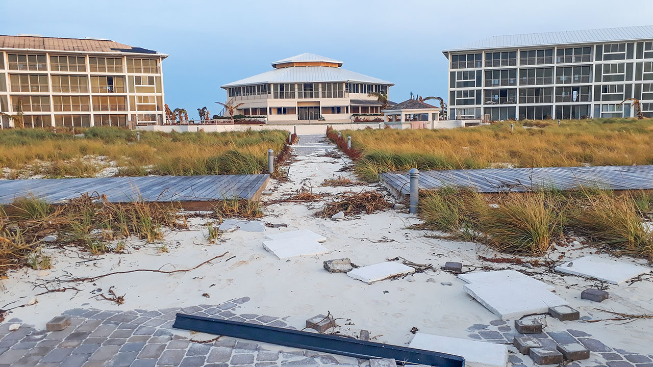 Hurricane Irma Damage At East Bay Resort South Caicos