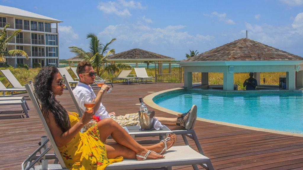 East Bay Resort Pool With Swim Up Bar