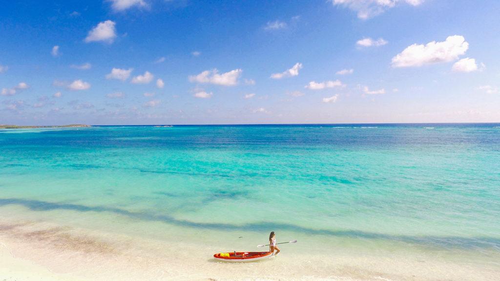 Kayaking at East Bay Resort South Caicos