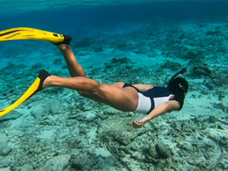 Snorkeling at East Bay Beach South Caicos, Turks and Caicos