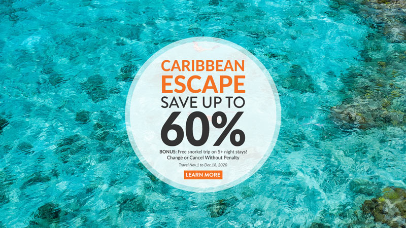 Caribbean Escape Special at East Bay Resort, South Caicos